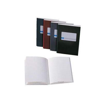 Atlanta schrijfblok: Notitieboek 200bl 105x165mm blauw/pk 5