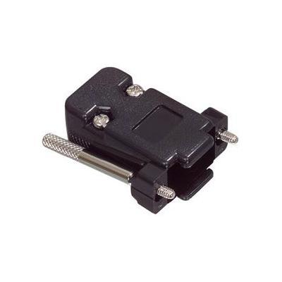 Valueline kabelbeschermer: D-Sub Hood - Zwart