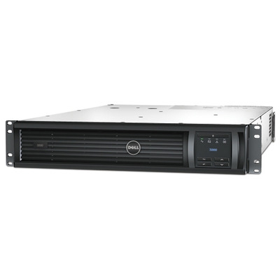 DELL PowerEdge Smart-UPS 2700 W/3000VA UPS - Zwart, Roestvrijstaal