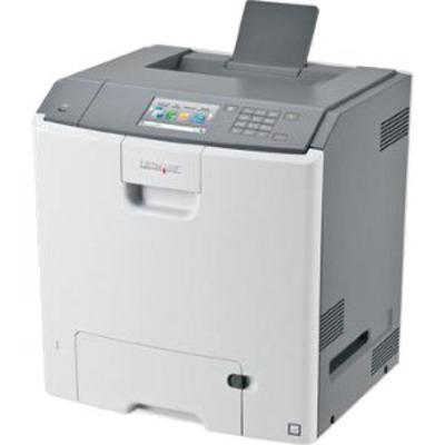 Lexmark C748de Laserprinter - Zwart,Cyaan,Magenta,Geel