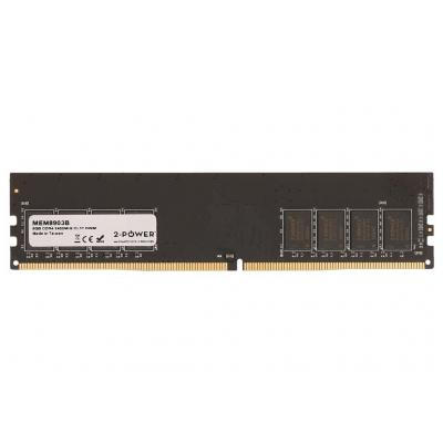 2-power RAM-geheugen: 8GB DDR4 2400MHz CL17 DIMM Memory - replaces KCP424NS8/8