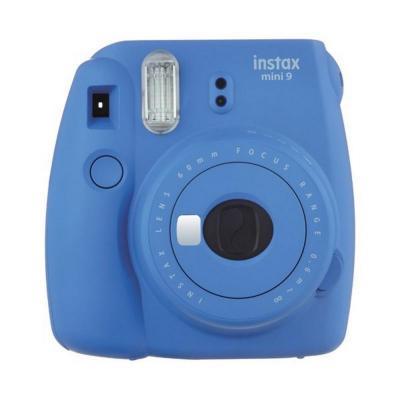 Fujifilm direct klaar camera: Instax Mini 9 + 10 instant picture film - Blauw