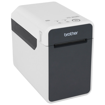 Brother Professionele voor RD labels en rollen van 19 tot 63 mm - 203 dpi Labelprinter - Zwart,Grijs