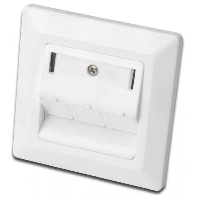 Assmann electronic wandcontactdoos: DN-93821 - Wit