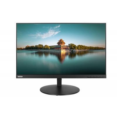 Lenovo monitor: ThinkVision P24q - Zwart