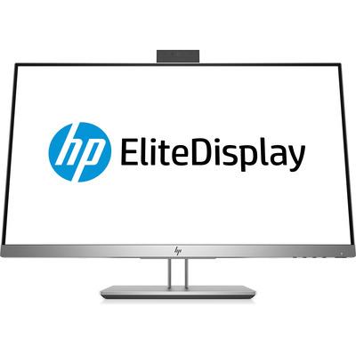 """HP EliteDisplay E243d 23,8"""" FHD IPS USB-C (ingebouwde webcam) Monitor - Zilver"""
