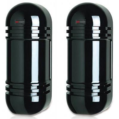 Hikvision Digital Technology DS-PI-D80, Photoelectric Detector, 2 beams, 80 m, IR LED, .....