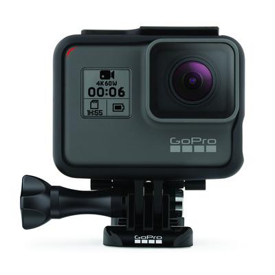 Gopro actiesport camera: HERO6 Black - Zwart