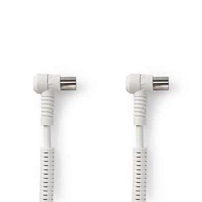 Nedis CSGP40120WT100 Coax kabel - Wit