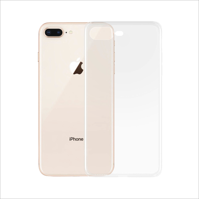 PanzerGlass Apple iPhone 7/8+ Clear Frame Mobile phone case - Transparant