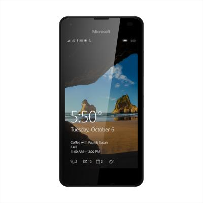 Microsoft smartphone: Lumia 550 - 4G - Zwart