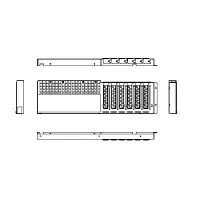 Chenbro Micom Rear Window Montagekit - Roestvrijstaal