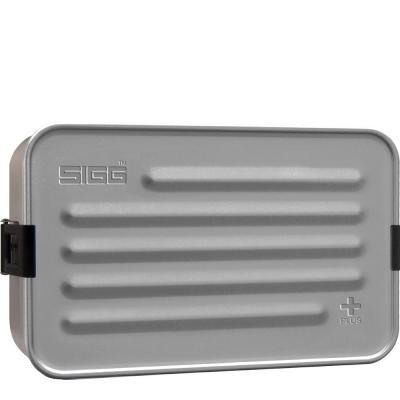 Sigg bewaar container: Metal Box Plus L Alu - Aluminium