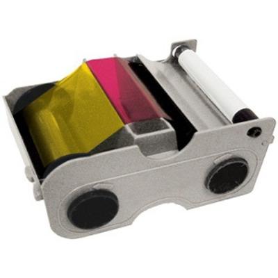 Fargo YMCKO five-panel printer ribbon cartridge Printerlint - Multi kleuren