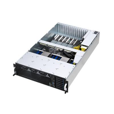 Asus server barebone: ESC8000 G3 - Metallic