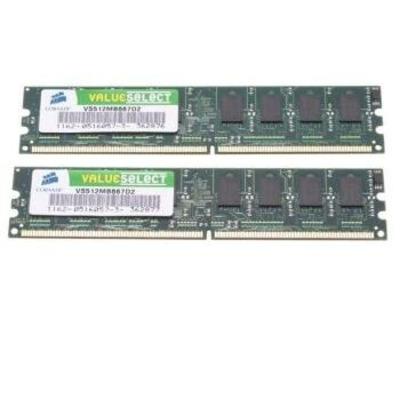 Corsair VS2GBKIT667D2 RAM-geheugen