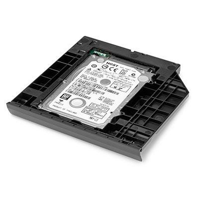 HP 2013 Upgrade Bay DVD - Carrier and Drive brander - Zwart, Grijs