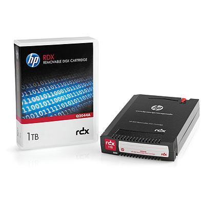 Hewlett Packard Enterprise RDX 1TB Datatape - Zwart