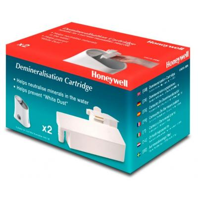 Honeywell : CH210-DEM - Antikalkcartridge voor luchtbevochtiger ( pakket van 2 ) - voor HH210E - Wit