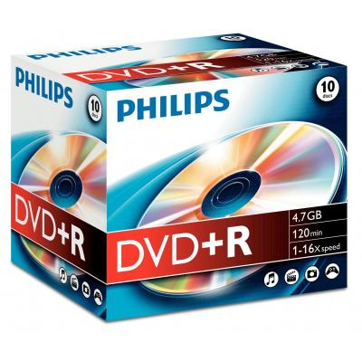 Philips DVD+R DR4S6J10C/10 DVD