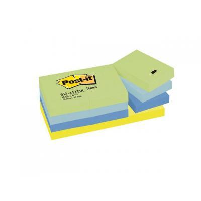 Post-it etiket: NOTES DROOM 38X51 P12
