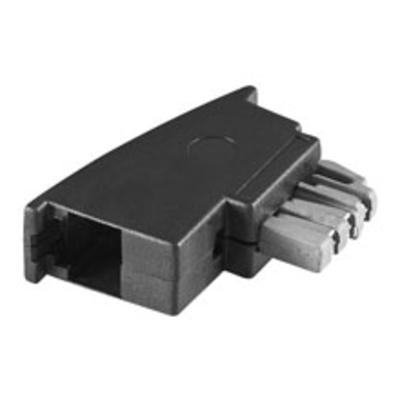 Goobay TAE-N/RJ11 Adapter Kabel adapter - Zwart