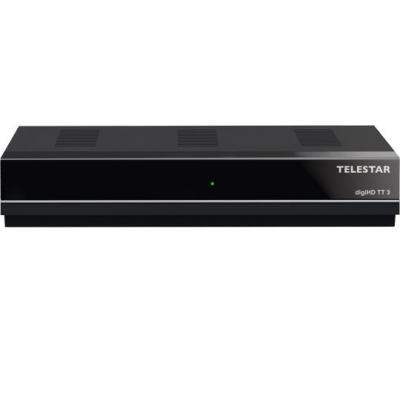 Telestar ontvanger: DigiHD TT 3 - Zwart