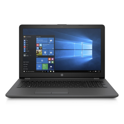Hp laptop: 250 G6 - Zwart