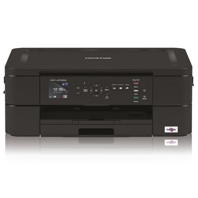 Brother Compacte all-in-one inkjet met Wi-Fi en fotoprintmogelijkheden in een stijlvol zwarte design. .....