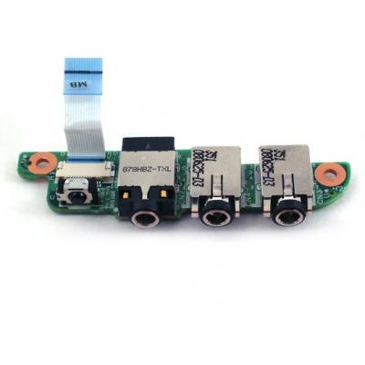 Hp notebook reserve-onderdeel: Infrared receiver board - With audio and microphone jacks