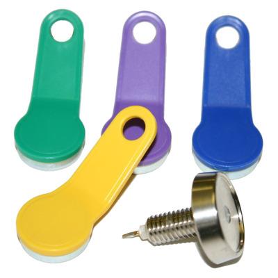 Olympia 947990005, Dallas Slot met 4 sleutels - Blauw,Groen,Metallic,Violet,Geel