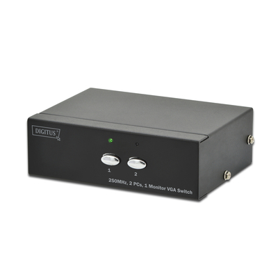 Digitus VGA selector Video switch - Zwart