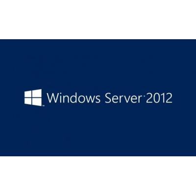 Microsoft Besturingssysteem: Windows Server 2012, 1pk, 1u, UCAL, DSP, OEI, OEM, FRE