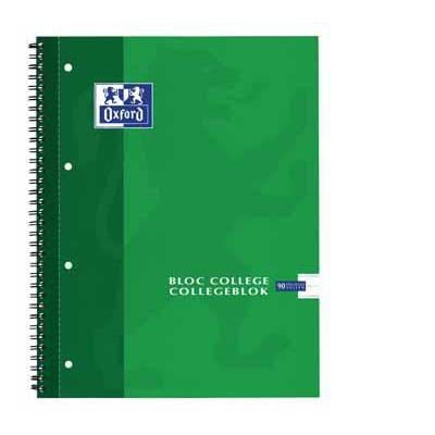 Elba belletering: OXFORD COLLEGEBLOK A4 90V L