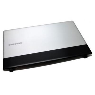 Samsung notebook reserve-onderdeel: LCD Back Cover, Black/Silver - Zwart, Zilver