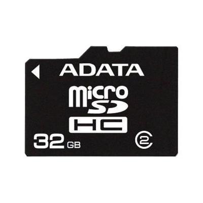 Adata flashgeheugen: 32GB microSDHC - Zwart