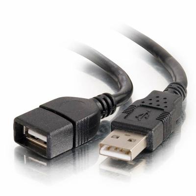 C2G 3 m USB 2.0 USB kabel - Zwart