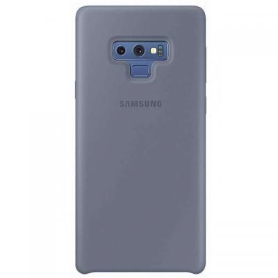 Samsung mobile phone case: Silicone Cover - Blauw
