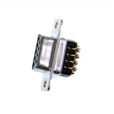 Brainboxes DB9/9 Pin Kabel adapter - Zwart, Metallic