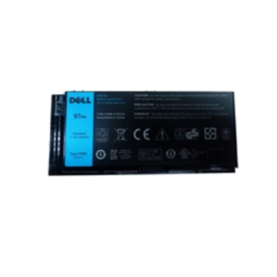 DELL Lithium-Ion, 10.8V, 9-Cell, 97WHr Notebook reserve-onderdeel - Zwart