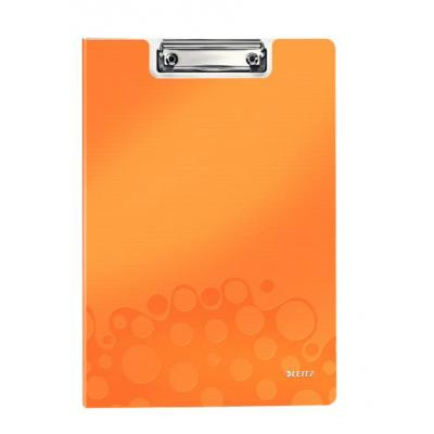 Leitz WOW Clipfolder with cover Klembord - Oranje