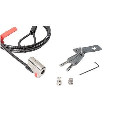 Dell kabelslot: 461-AAES - Zwart, Roestvrijstaal