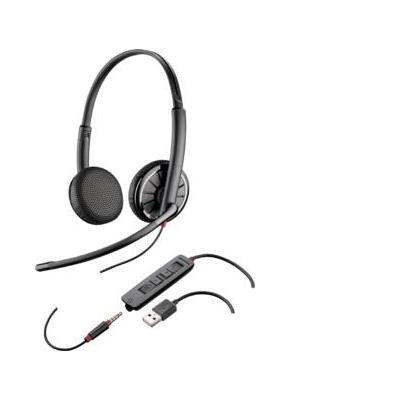 Plantronics headset: Blackwire C325-M - Zwart