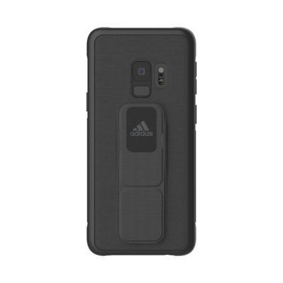 Adidas 5.8'', Galaxy S9, TPU, grey Mobile phone case - Grijs