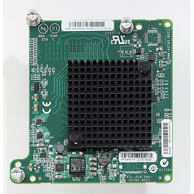 HP LPe1605 16Gb Fibre Channel Host Bus Adapter for BladeSystem c-Class Netwerkkaart