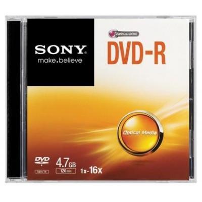 Sony DVD: 16x DVD-R 4.7GB