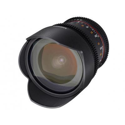 Samyang 10mm T3.1 VDSLR ED AS NCS CS II Camera lens - Zwart