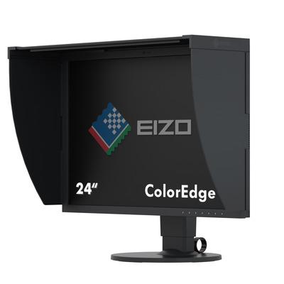 "EIZO ColorEdge 24.1"" IPS USB 3.0 Hub Monitor - Zwart"