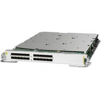 Cisco ASR 9000 24-Port 10GE Service Edge Optimized Line Card, requires SFP+ optics netwerk switch module