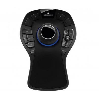 Hp computermuis: SpaceMouse Pro USB 3D-invoerapparaat - Zwart